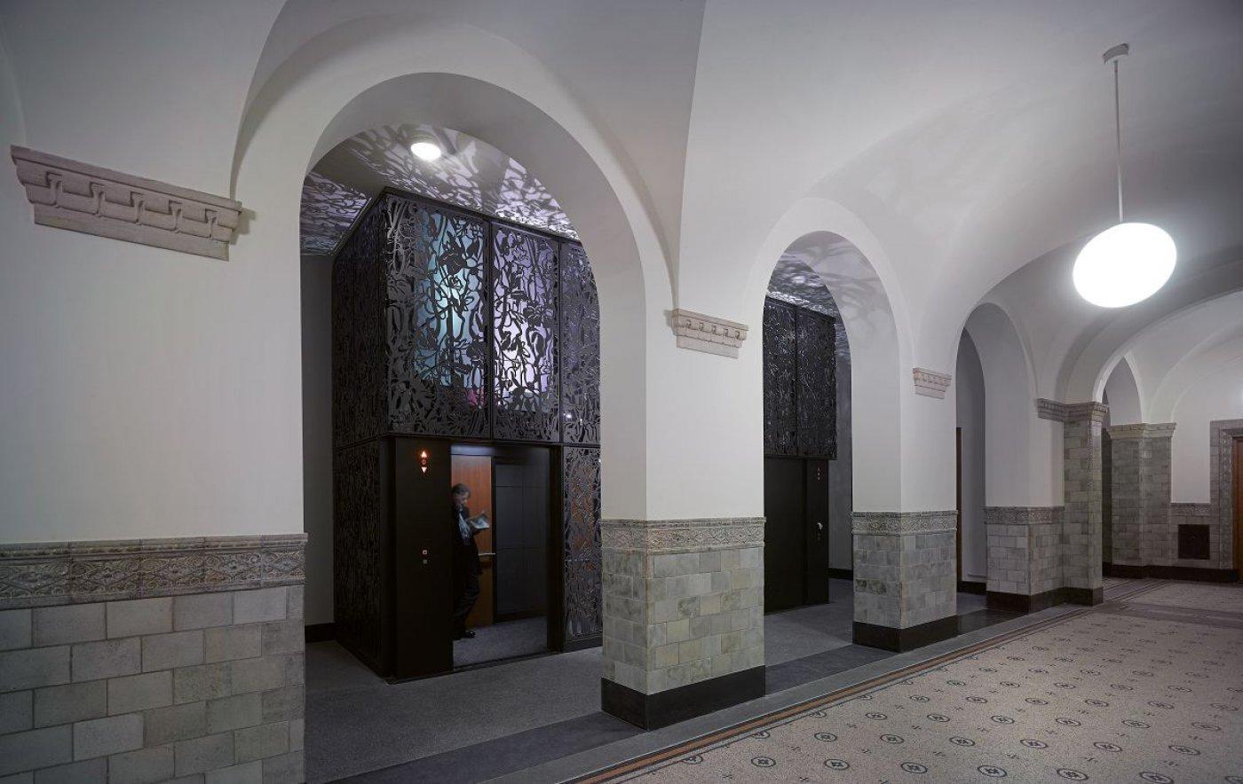Integratie lift