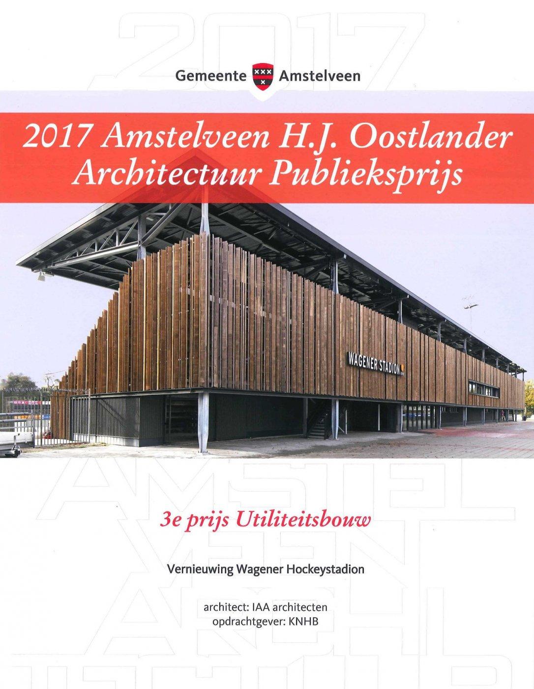 Amstelveense Architectuurprijs Oorkonde