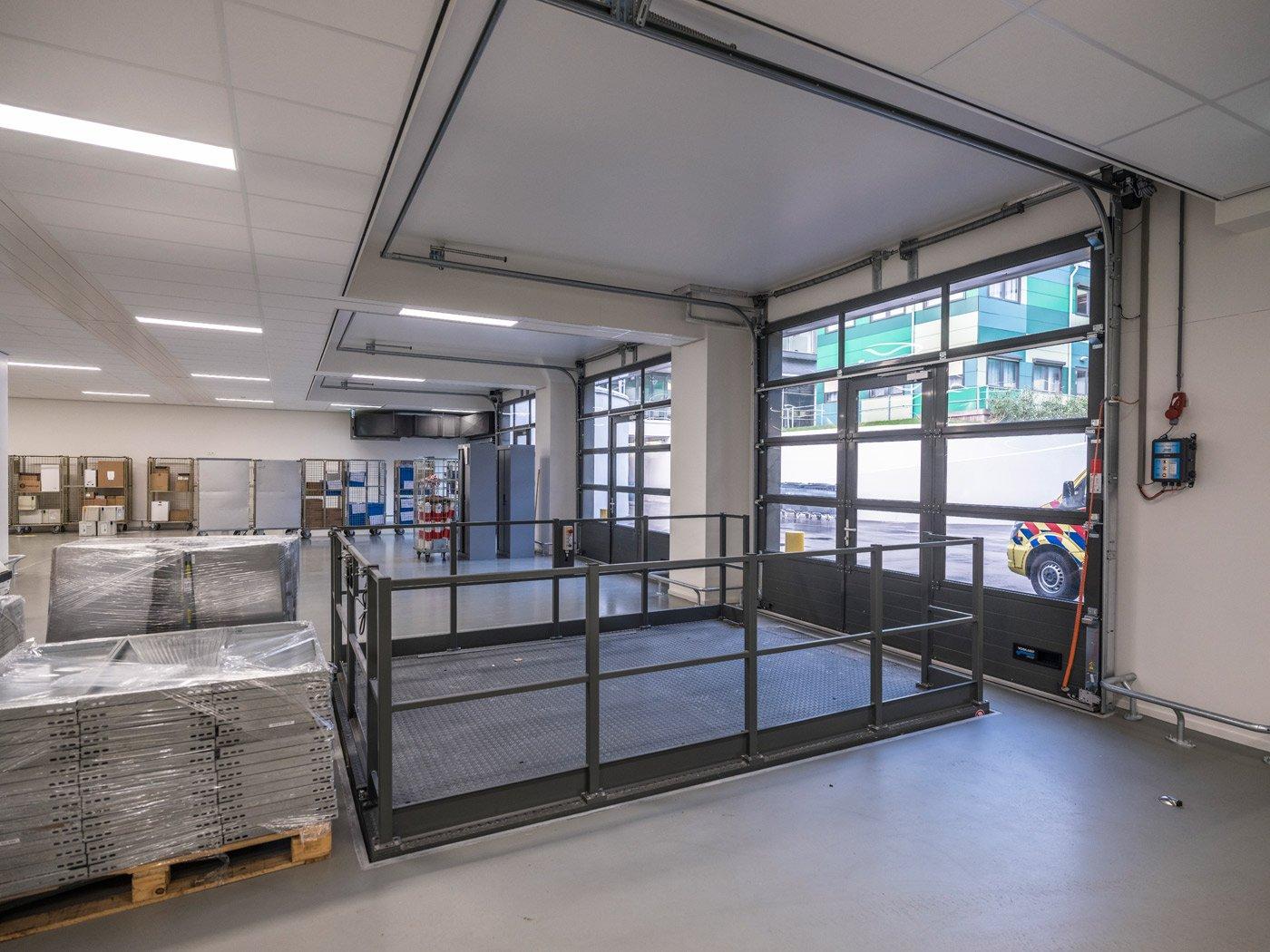 logistiek centrum MST
