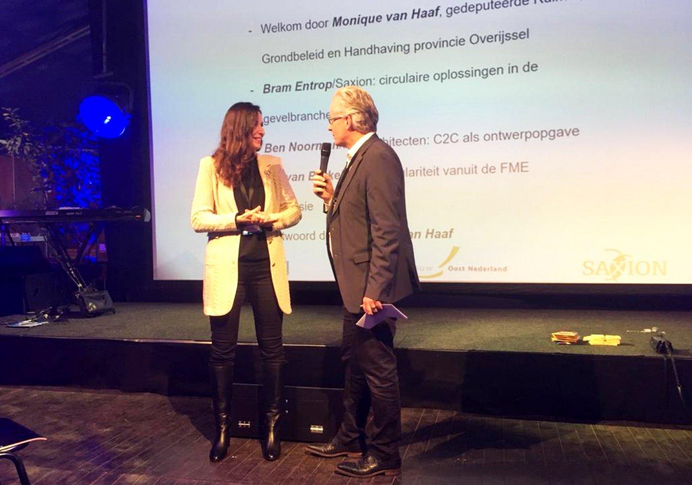Theo de Bruijn interviewt Monique van Haaf